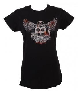 Meinl M35 Fekete rövidujjú női póló
