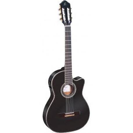 Ortega RCE145BK elektro-klasszikus gitár