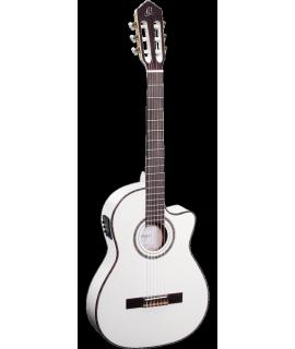 Ortega RCE145WH elektro-klasszikus gitár