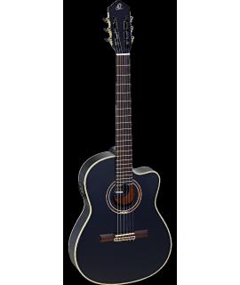 Ortega RCE138-T4BK elektro-klasszikus gitár