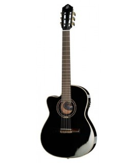 Ortega RCE138-T4BK-L elektro-klasszikus gitár