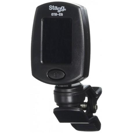 Stagg CTU-C5 BK Csíptetős hangoló