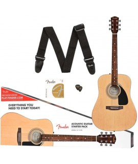 Fender FA-115 Dreadnought akusztikus gitár szett