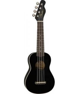 Fender Venice Black  szoprán ukulele