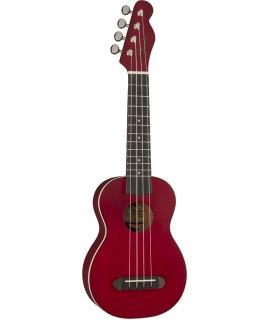 Fender Venice Cherry  szoprán ukulele