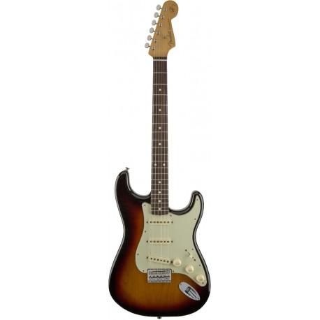 Fender Robert Cray Stratocaster RW 3-Color Sunburst elektromos gitár