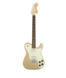 Fender Chris Shiflett Telecaster Deluxe Shoreline Gold elektromos gitár