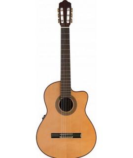 Stagg C1448CBB-S Elektroakusztikus-klasszikus gitár