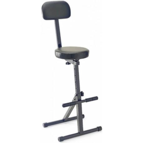 Stagg MT-300 BK Lábtartós háttámlás szék