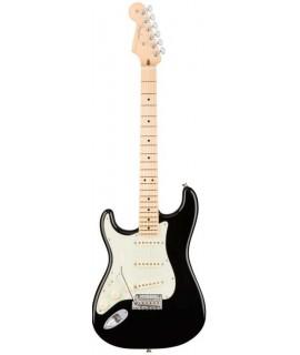 Fender American Pro Stratocaster MP Black elektromos gitár