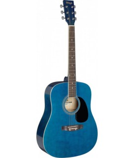 Stagg SA20D BLUE Akusztikus gitár