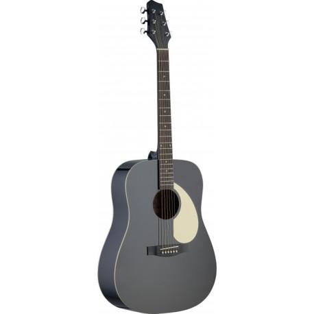 Stagg SA30D-BK Akusztikus gitár