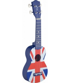 Stagg US UK-FLAG Szoprán ukulele