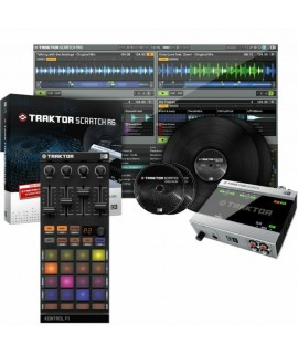 Native Instruments Traktor Scratch A6 dj szett
