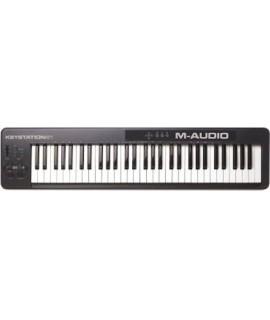 M-Audio Keystation 61 II USB/MIDI vezérlő érintés-érzékeny billentyű