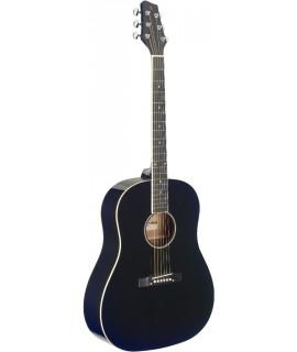 Stagg SA35 DS-BK akusztikus gitár