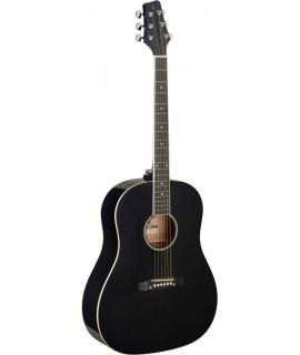 Stagg SA35 DS-BK LH akusztikus gitár