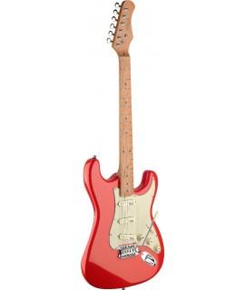 Stagg SES50M-FRD elektromos gitár
