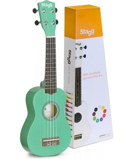 Stagg US-Grass Szoprán ukulele