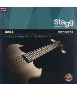 Stagg BA-4525-5S basszusgitár húr szett