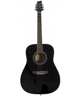 Pasadena AG160 BK akusztikus gitár