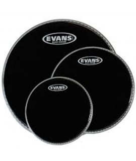 Evans ETP-CHR-S Black Chrome Tom Pack dobbőr szett