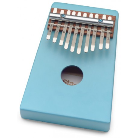 Stagg KALI-KID10-BL Kék kalimba