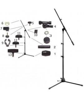 Stagg MIS-2034BK gémes mikrofon állvány