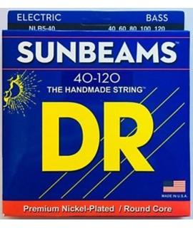 DR Strings NLR5-40 basszusgitár húrkészlet