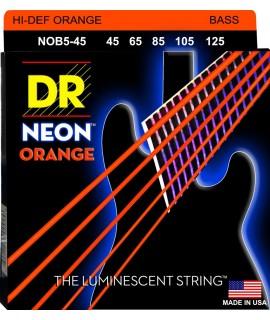 DR Strings  NOB5-45 Basszusgitár húrkészlet