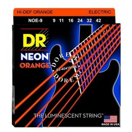 DR Strings NOE-9 Elektromosgitár húrkészlet