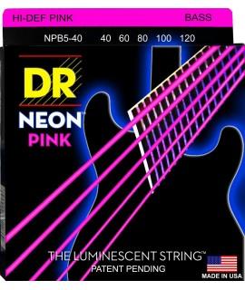 DR Strings NPB5-40 Basszusgitár húrkészlet