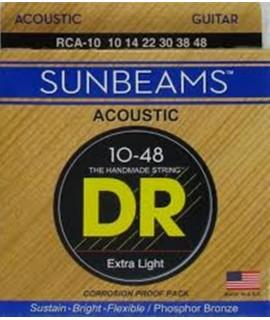 DR Strings RCA-10 Akusztikus húr
