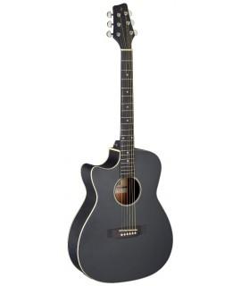 Stagg SA35 ACE-BK LH elektroakusztikus gitár