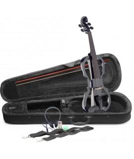 STAGG EVN X-4/4 BK elektromos hegedű