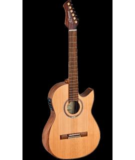 Ortega FLAMETAL-TWO  elektroklasszikus gitár