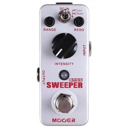 MOOER Bass Sweeper basszusgitár effekt