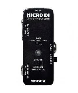 Mooer Micro DI box gitáreffekt