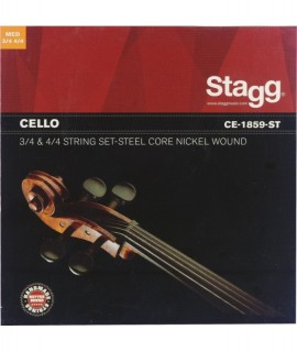 Stagg CE-1859-ST csellóhúrkészlet