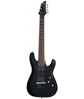 Schecter C-7 DELUXE SBK elektromos gitár