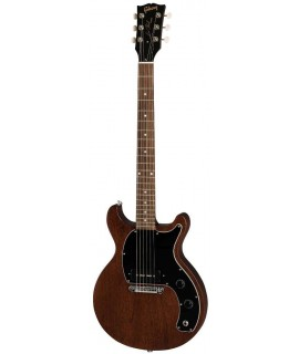 Gibson Les Paul Junior Tribute DC Worn Brown elektromos gitár