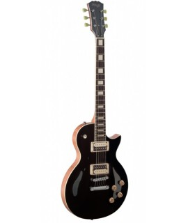 Stagg SEL-ZEB-BK elektromos gitár