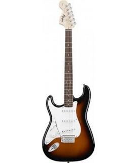 Squier Affinity Stratocaster Brown Sunburst LH elektromos gitár