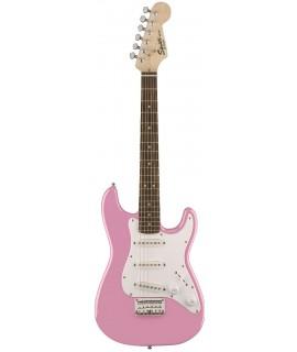 Squier Mini Strat Pink elektromos gitár