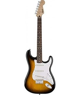 Squier Bullet Strat with Tremolo Brown Sunburst elektromos gitár