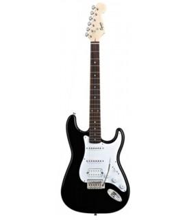 Squier Bullet Strat with Tremolo HSS Black elektromos gitár