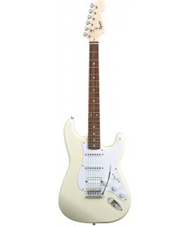 Squier Bullet Strat with Tremolo HSS Arctic White elektromos gitár