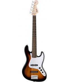 Squier Affinity Jazz Bass Brown Sunburst basszusgitár
