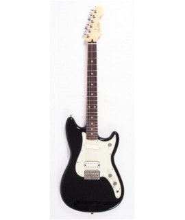 Fender Duo-Sonic HS PF Black elektromos gitár