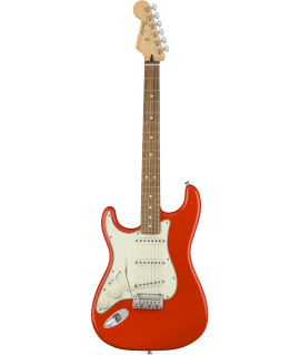 Fender Player Stratocaster LH MN Capri Orange elektromos gitár